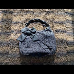 White House Black Market black shoulder purse